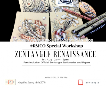 Zentangle Renaissance workshop