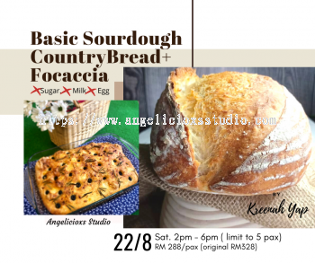 Sourdough & Focaccia Workshop