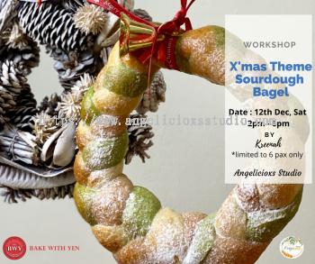 Christmas Theme Sourdough Bagel Workshop
