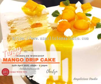 Tangy Mango Drip Cake Workshop