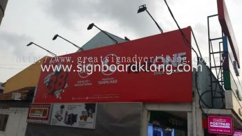 Red one network sdn bhd 3D Led conceal box up lettering and giant billboard at sekinchan Selangor