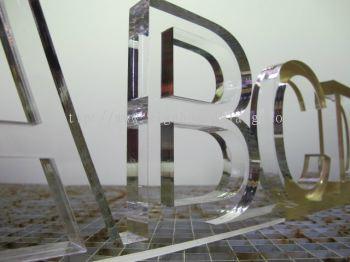 Laser Cut Acrylic Lettering