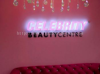 Celebrity indoor LED lettering at kota damansara kl
