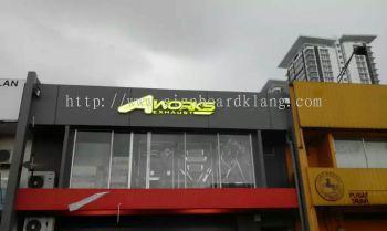 Aworks Performance LED Conceal Box Up - at Subang Usj