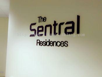 The sentral Pvc 3D lettering at subang