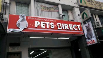 Pet Dirert LED Conceal Signboard install at Shah Alam Kampong Subang