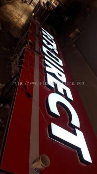 Pet Dirert LED Conceal Signboard install at Shah Alam Kampong Subang-