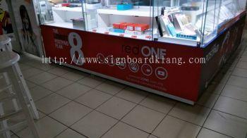 Red One Network Sdn Bhd inkjet wall sticker
