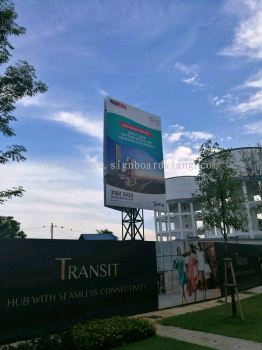 Setia Group project Billboard at bukit tinggi klang