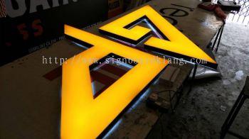 Pain & Gain Fitness 3D LED billboard at shah alam