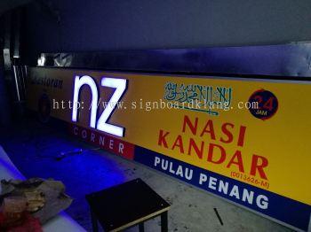 Nz Corner Mak mak 3D LED signage at cheras