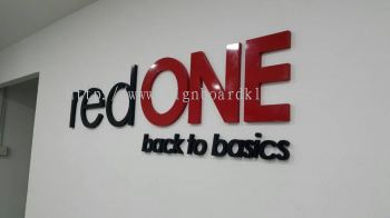 Red One Network Sdn Bhd Acrylic Box Up signage
