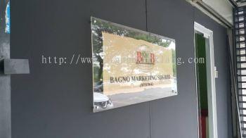 Bangno marketing Sdn Bhd Acrylic Poster Frame at kuala Lumpur