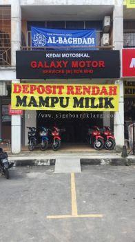 Galaxy Motor Services (M) Sdn Bhd 3D Box Up LED Signboard At Klang Meru