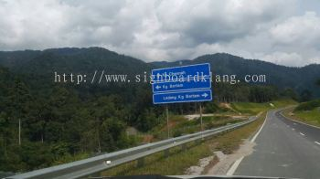 Seremban Project Direction Road Signboard