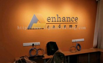 Enhance Indoor 3D Box up Signage bukit tinggi klang