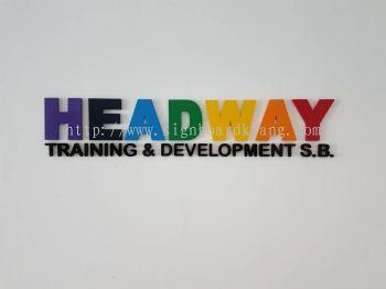 Heard Way Training Development 3D box up Signage in bukit tinggi klang