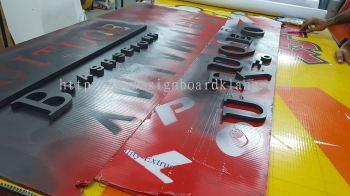3D PVC signage lettering