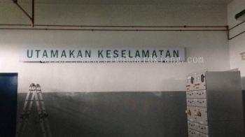TNB tenaga nasional berhad Metal G.I Signboard in Bangi Kl