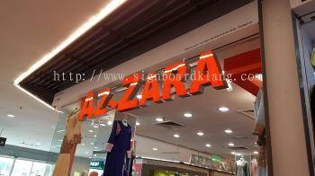 Shopping Mall Indoor 3D LED Signage at Kuala Lumpur / Kl
