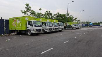 Csh truck lorry inkjet Sticker in Kl