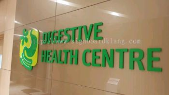 Sunway Health Center PVC 3D box up lettering in subang