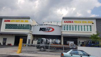KSW Group Aluminum Eg Box up 3D lettering at meru klang