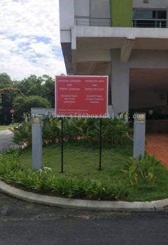 Mytv Sdn Bhd Direction Signboard at purtajaya kl