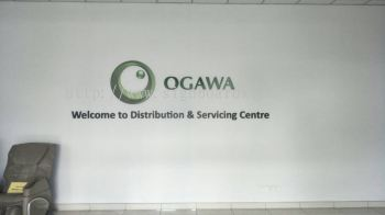 OGAWA reception 3D boxup signage At teluk intan klang