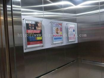 Sunway Medical Centre Acrylic poster frame at subang Kuala Lumpur