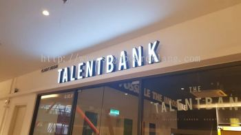 Talentbank 3D led channel box up lettering Signage at subang Sunway Geo