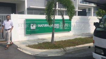Natural Elixir Sdn Bhd 3D Box up lettering signage at pandamaran klang