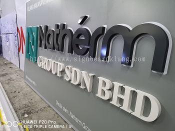 Natherm Group Sdn Bhd 3D box up Signboard at Kuala Lumpur