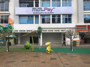 MolPay 3D Conceal box up Led Signboard in Shah Alam I-City  Kuala Lumpur Sigange