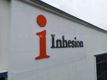 Inhesion 3D Box up lettering signage In Meru Klang