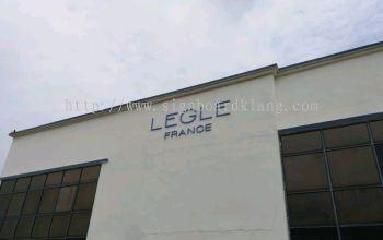 LEGLE FRANCE 3D box up lettering Signboard in Meru klang