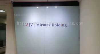 KAJV Mirmas Holding 3D Acrylic box up Signage at Kuala Lumpur