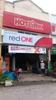 Red One Netword Sdn Bhd Light box Signage at rawang kuala Lumpur