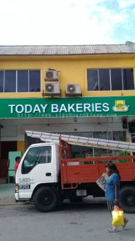 Today Bakeries 3D Led Channel Box up Lettering Signage At Klang Utama