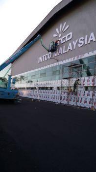 Intco Malaysia Eg Box Up 3D lettering Signage At Kuala Lumpur