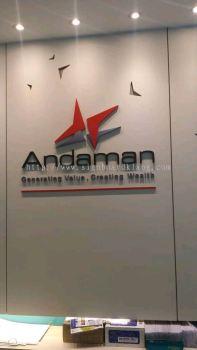 Andaman 3D Box up Lettering Sigange At Petaling jaya Kuala Lumpur