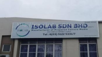 Isolab sdn bhd Metal G.i Signboard