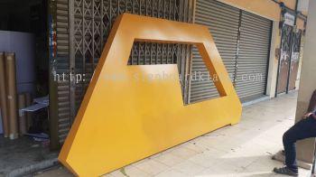 PM copper 3D EG Box up lettering signage at kapar klang
