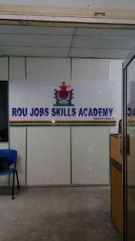 Rou Jobs Skills Academy Acrylic poster frame at bandar baru klang