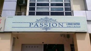 Passion Boutique Ligt Box Signboard at Bukit tinggi klang