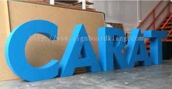 EG box up lettering signage supply at Kuala Lumpur / klang