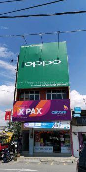 Oppo Giant billboard At tanjong karang selangor signage