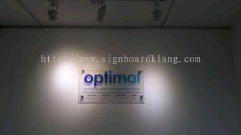 optimal Acrylic poster frame , signage design