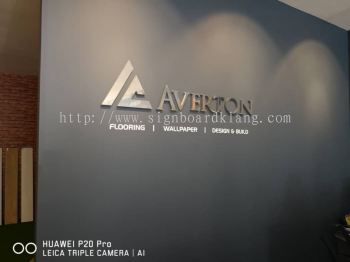 Averton Stainless steel 3D boz up lettering signage at Bukit tinggi klang