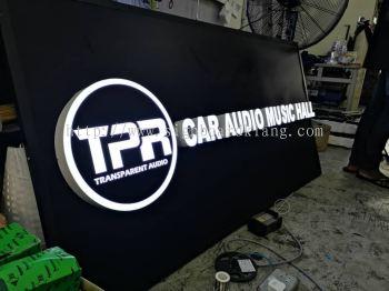 3D Led channel box upe lettering signage at sentosa klang